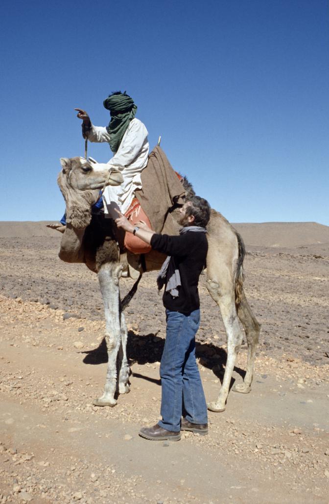 Jørgen Bjerre, medlem nr. 363, kamel